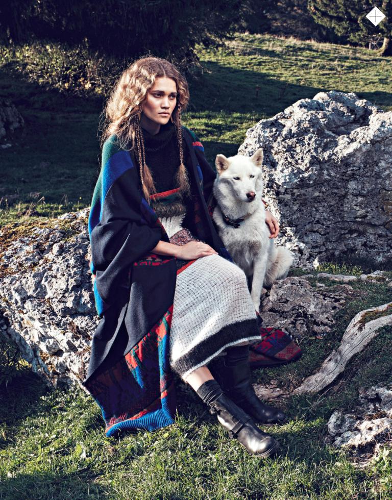 Stylist UK Magazine 25th November 2014 - In The Wild