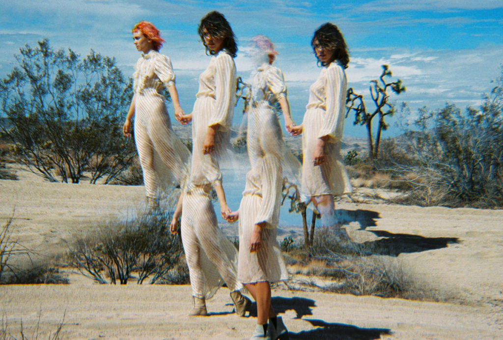 Gold Heart Collective - desert shoot