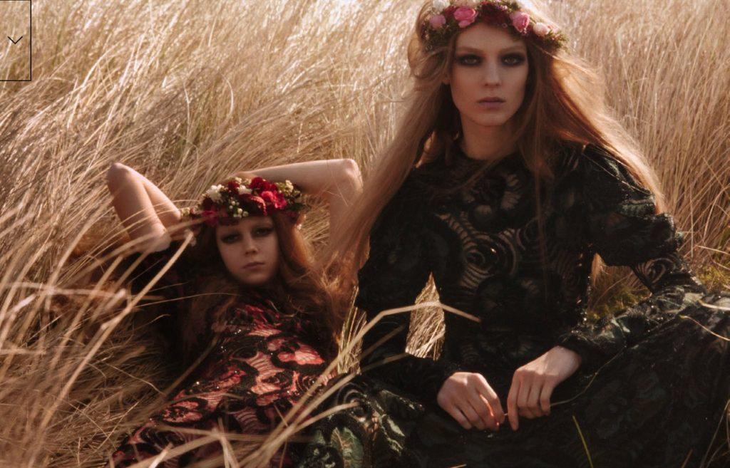 models Kati Nescher & Natalie Westling