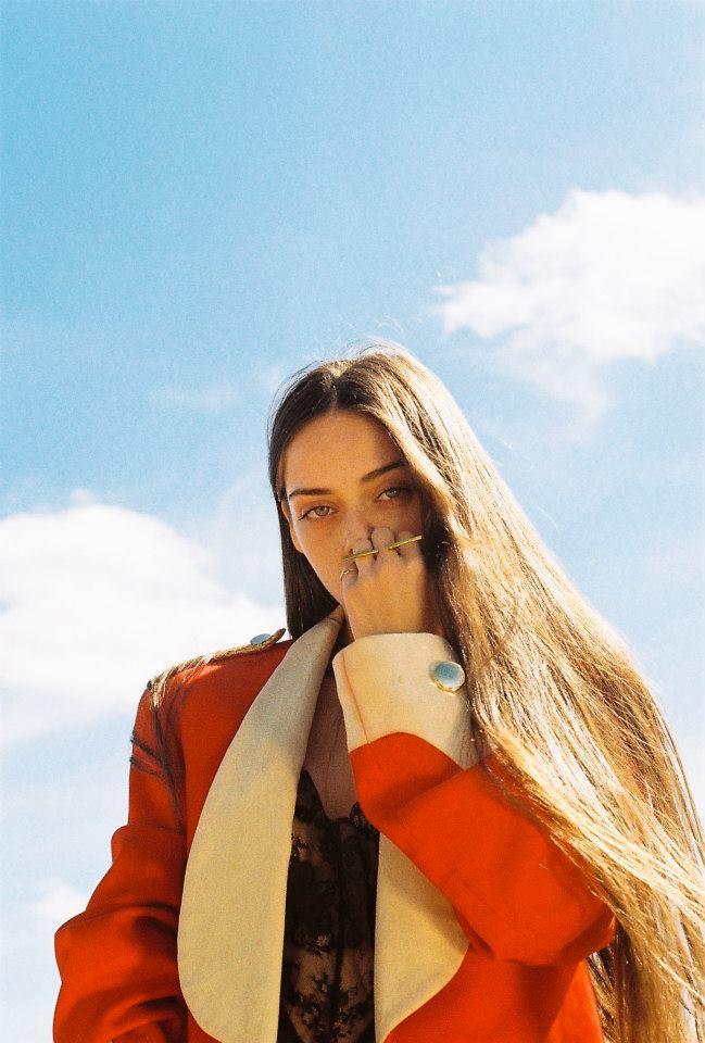 Before Dawn - model Charlotte Jane