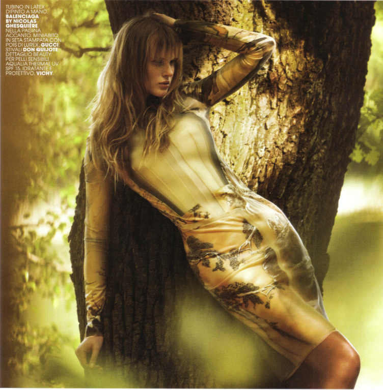 Marie Claire Italy October 2008 - photography David Bellemere