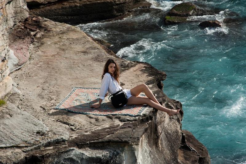 australian model Amelia Zadro