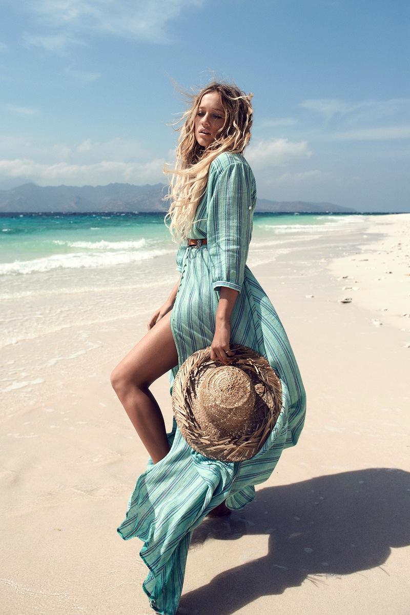 Zippora Seven - Island Boho Gown