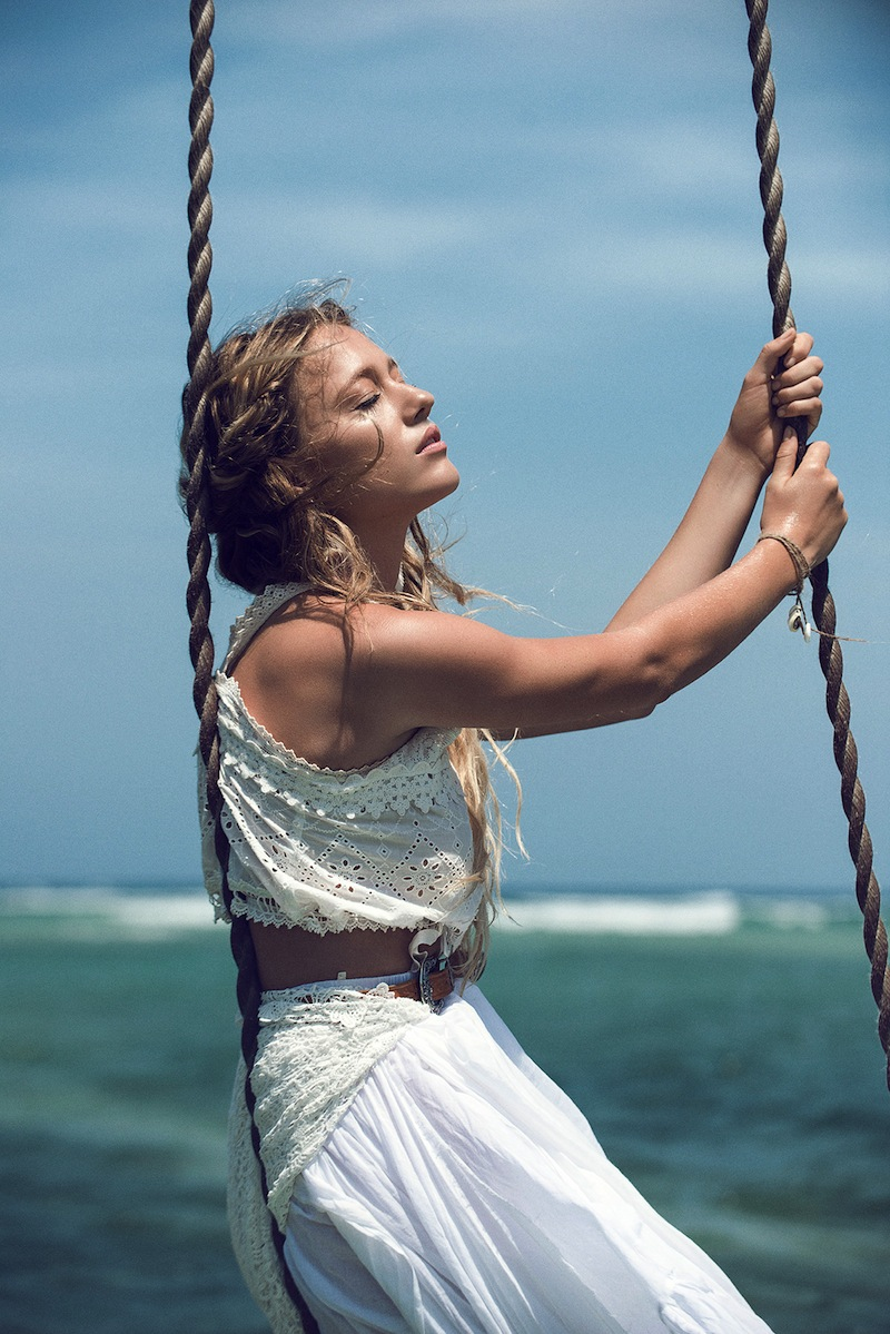 "Spell & the Gypsy Collective ""Island Boho"" lookbook - Zippora Seven"