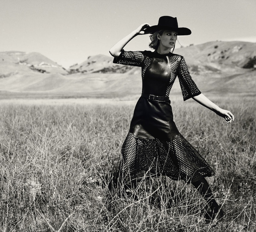 "Toni Garrn in ""Prairie Rose"""