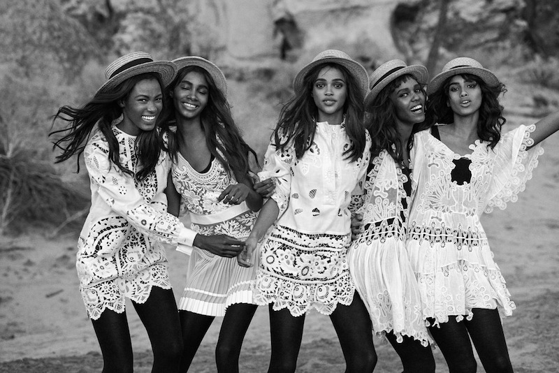 Vogue US March 2015 - Peter Lindbergh