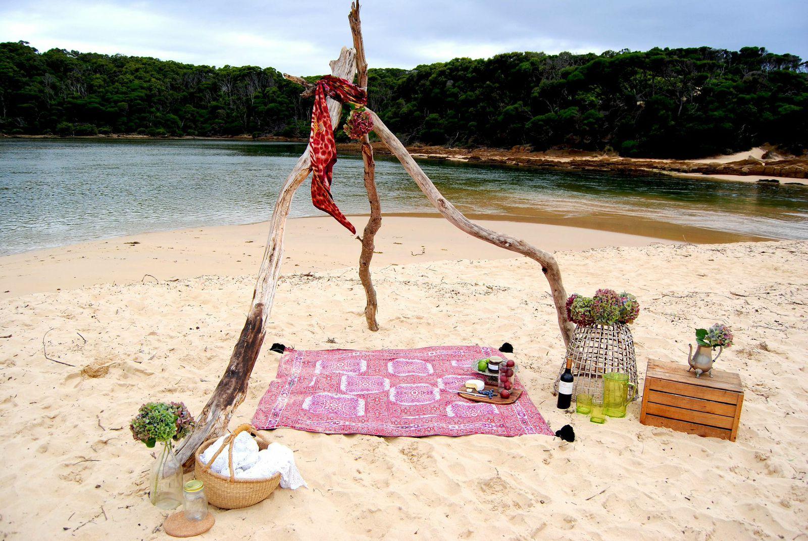 Wandering Folk Picnic Rug