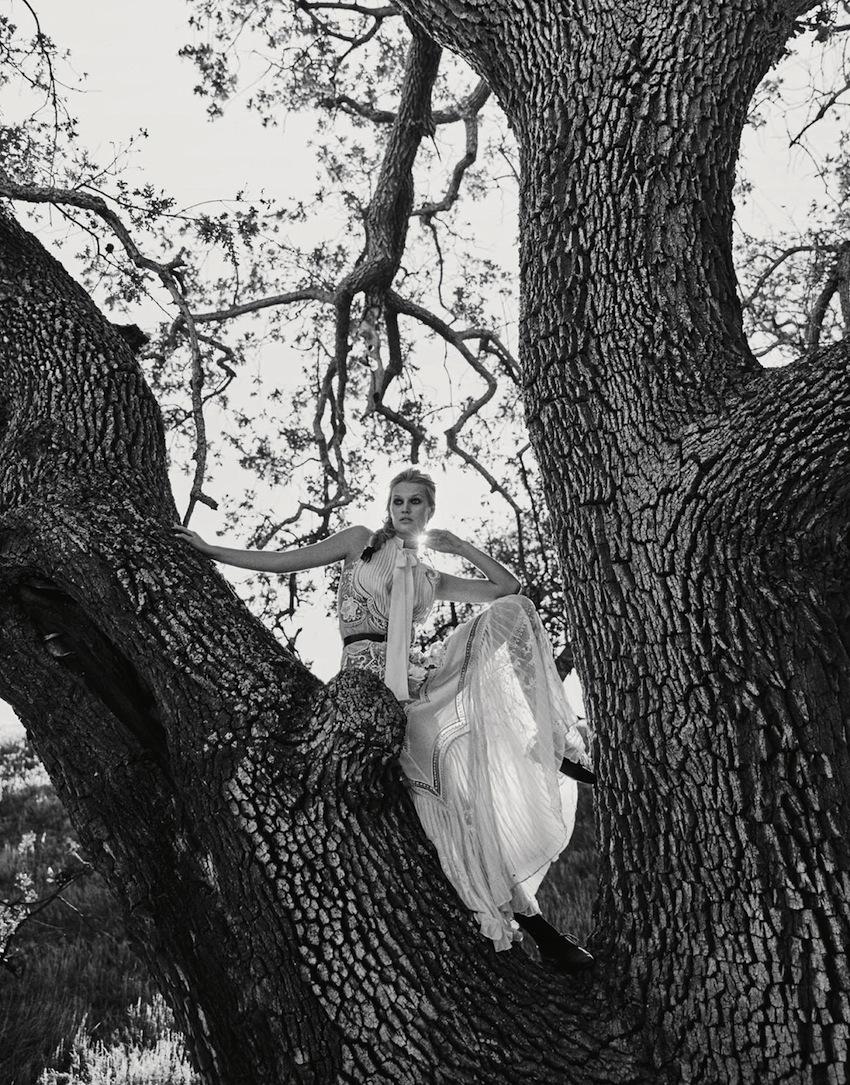 Toni Garrn styled by Cathy Kasterine