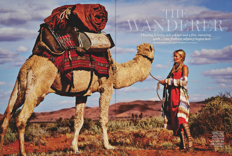 Marie Claire - The Wanderer