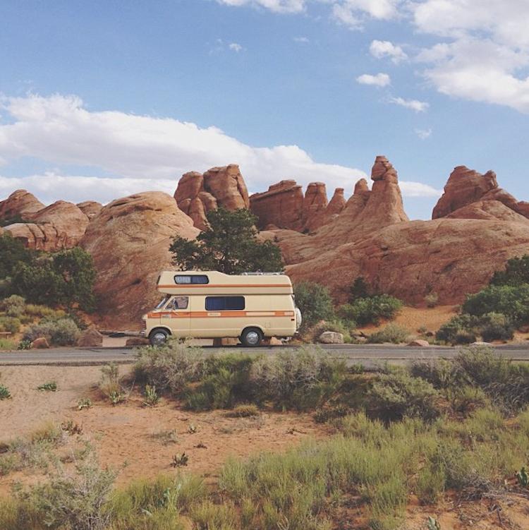 Kevin Russ - caravan life