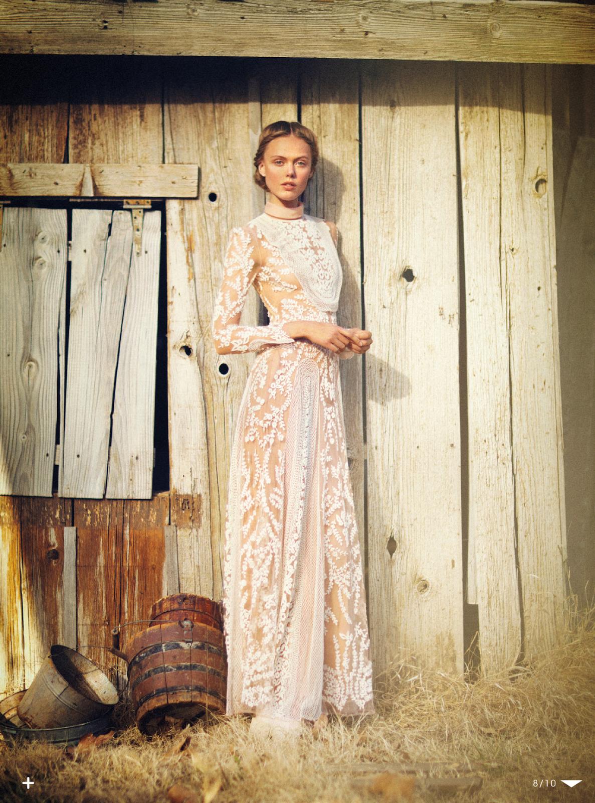 Frida Gustavsson - model