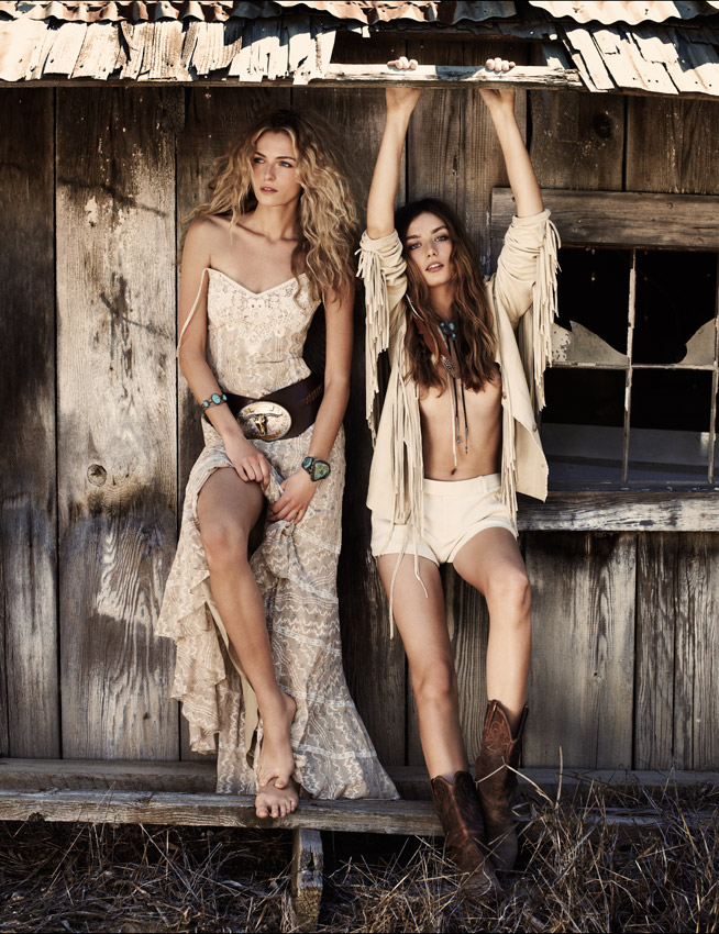 Wild At Heart - Valentina Zelyaeva & Andreea Diaconu
