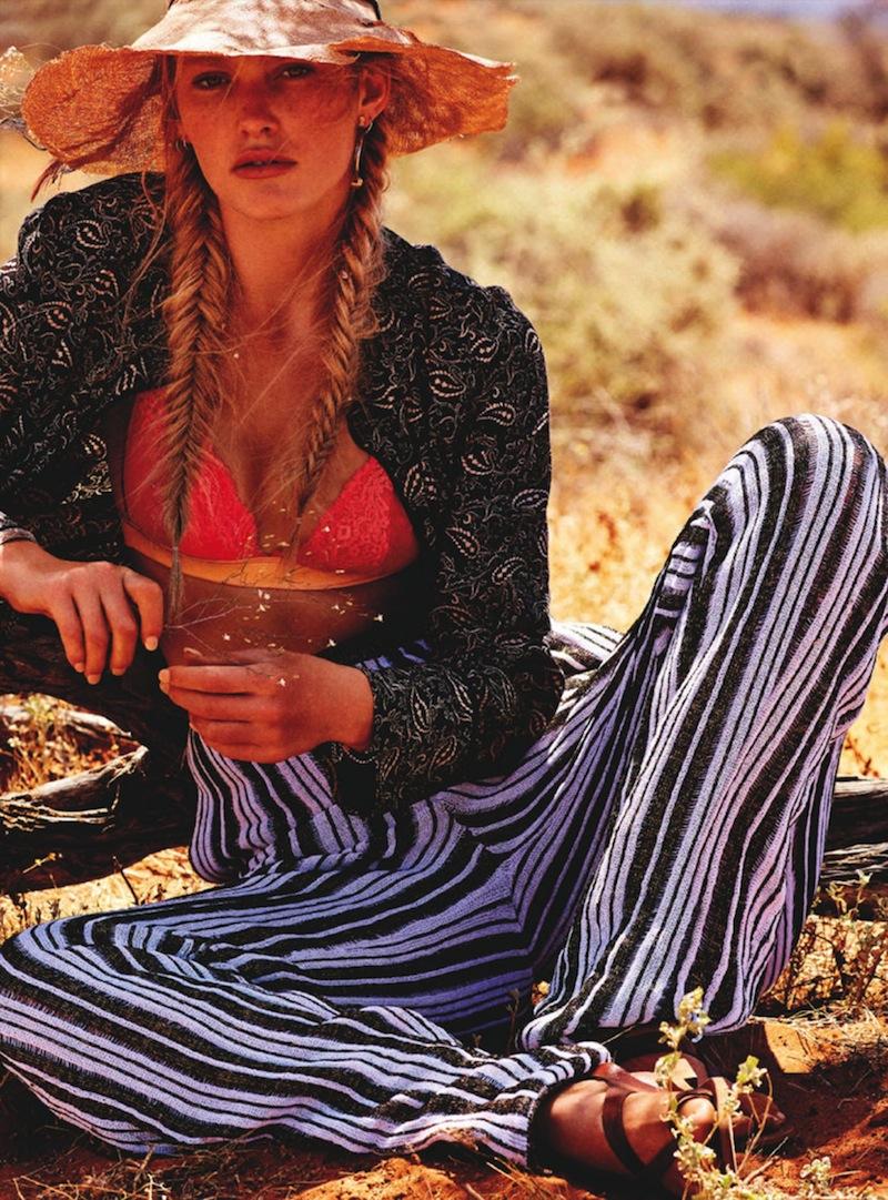 Marie Claire Australia - model Emily Baker