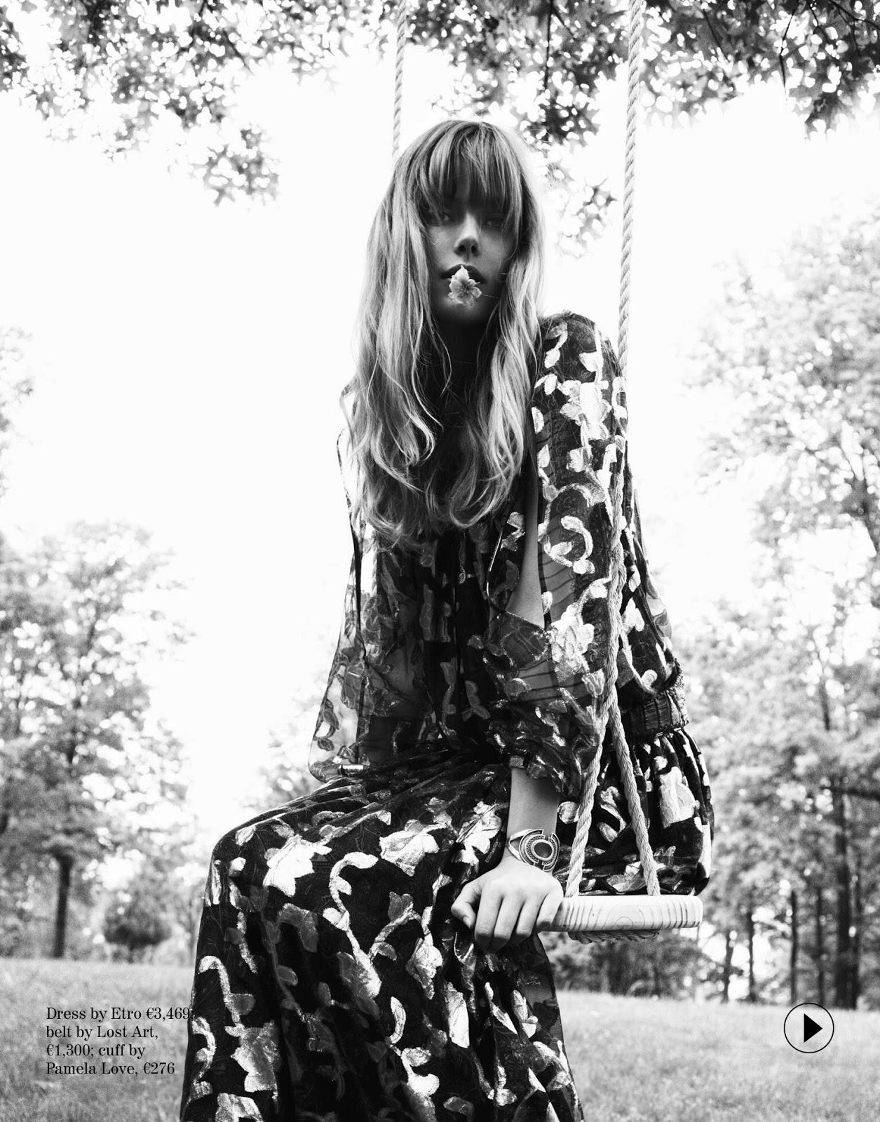 Frida Gustavsson - Porter Magazine