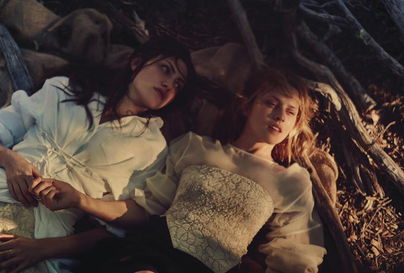 Teresa Palmer & Phoebe Tonkin by Will Davidson
