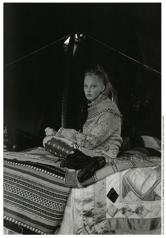 model Tanya Dziahileva