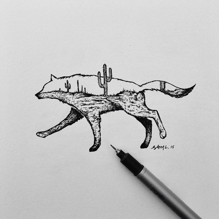 art by Sam Larson