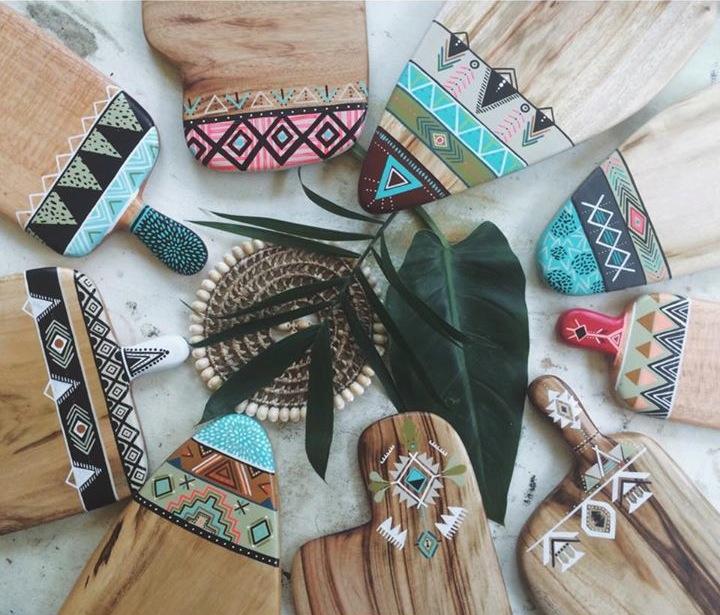 timber serving boards - Millie