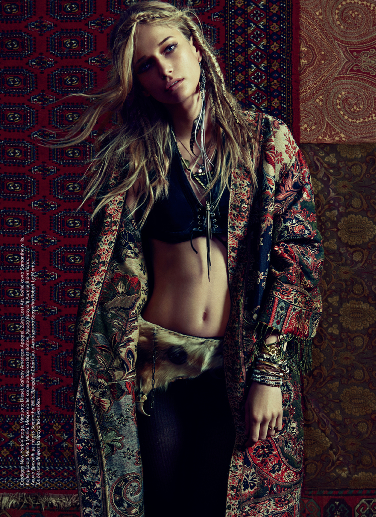 """Totem"" editorial - model Ella Petrushko"