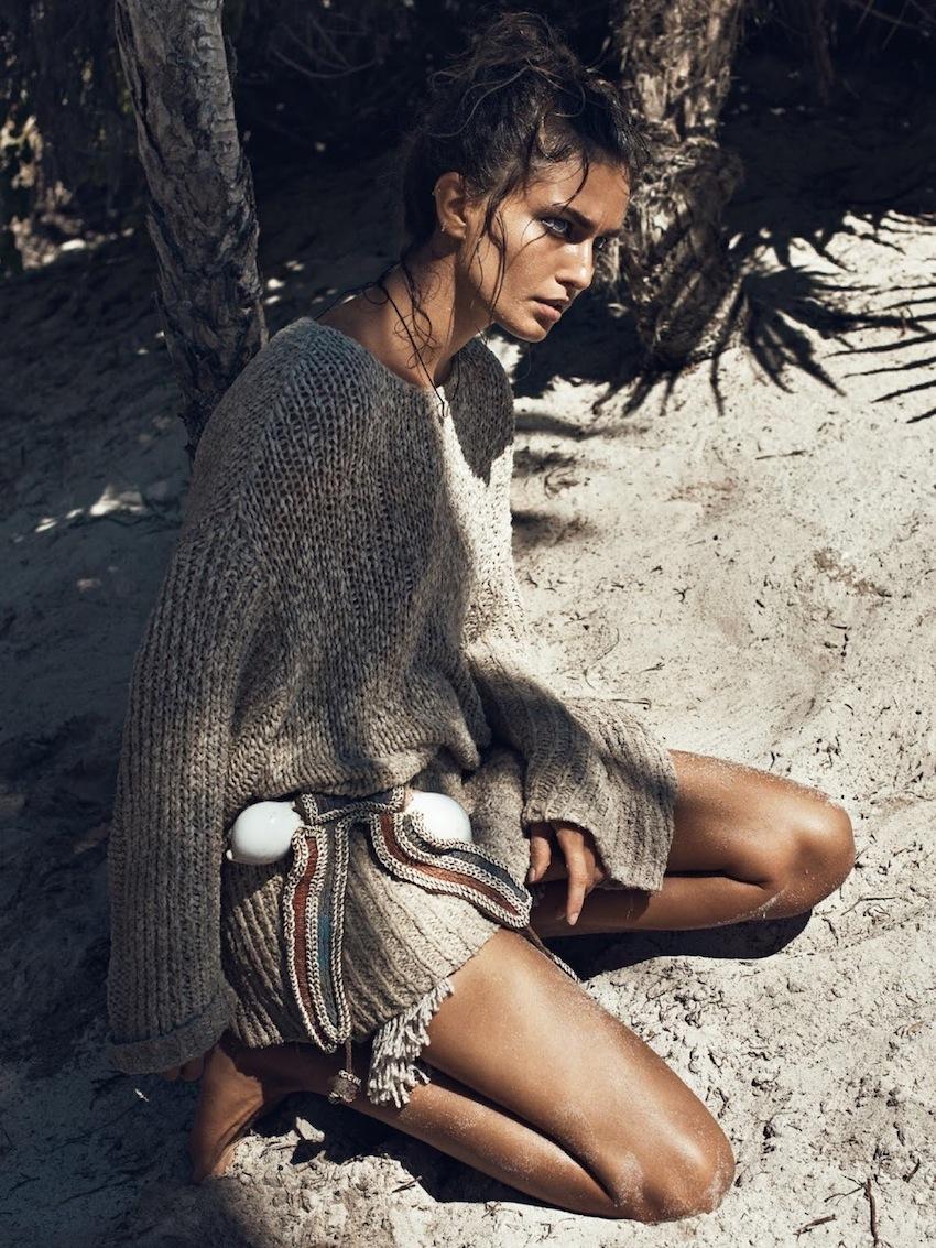 Vogue Paris - model Andreea Diaconu