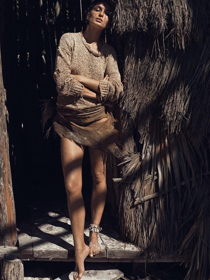 Andreea Diaconu - styled Geraldine Saglio