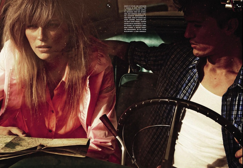 On the Road - Michel Comte