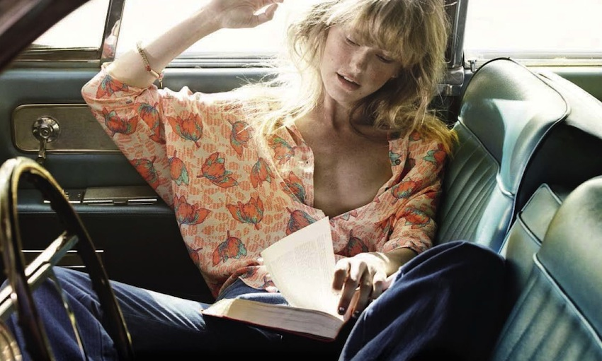 "Vogue Italia April 2015 ""On the Road"""
