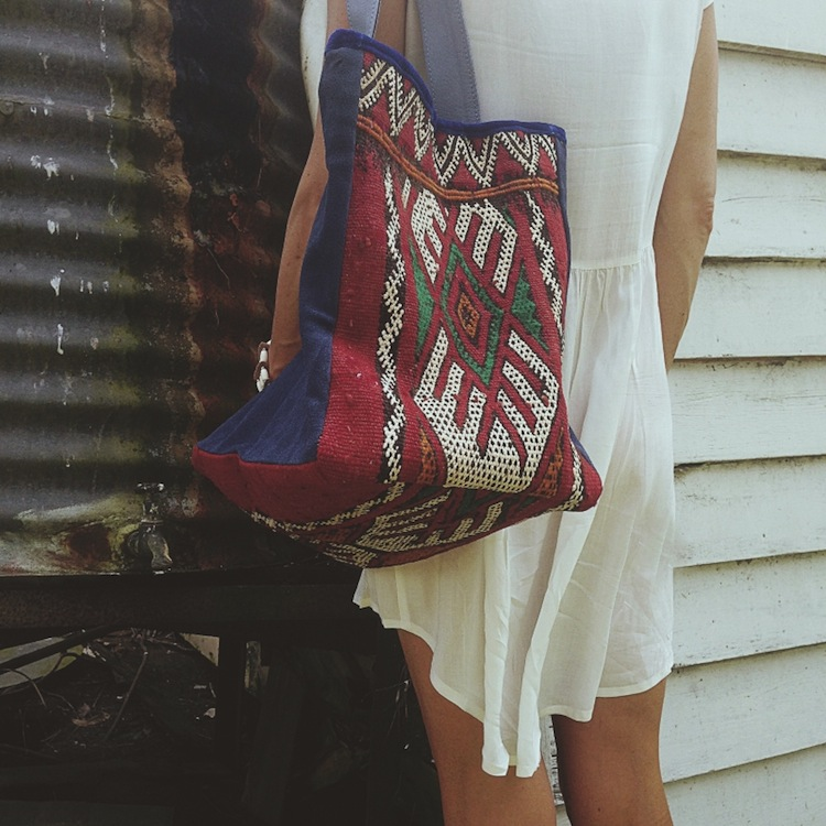 The Boho Bazaar - tote