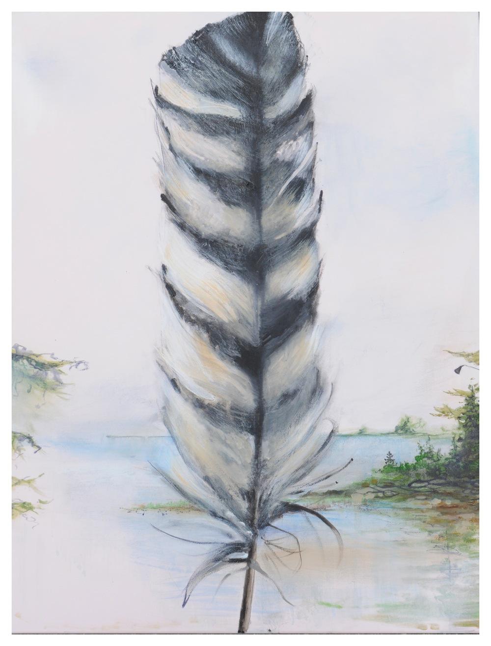 Deanna Lankin - feather
