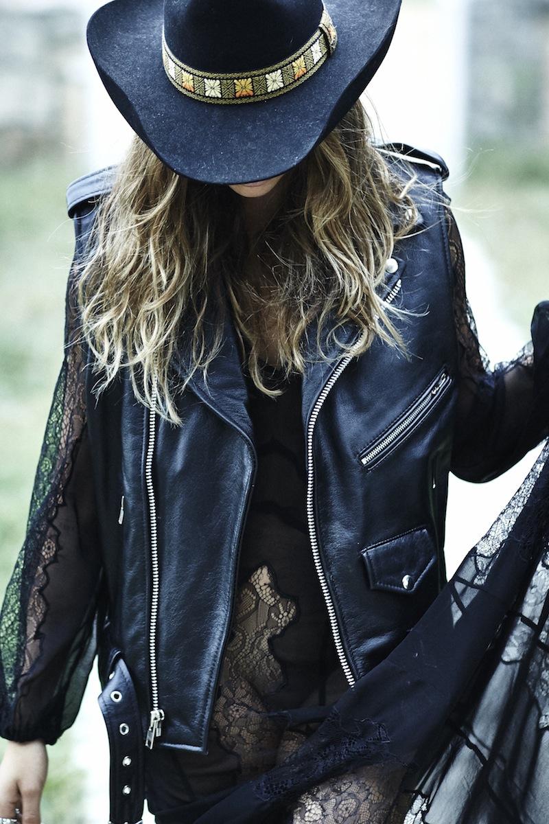 Understated Leather Jacket