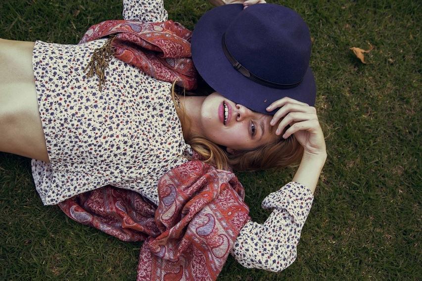 Aris Jerome - model Ella Weisskamp