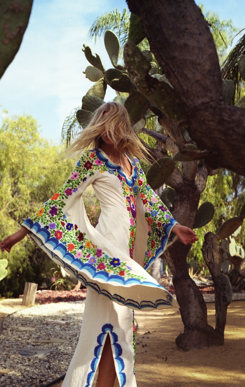 Summer of Love - Woodstock Kaftan