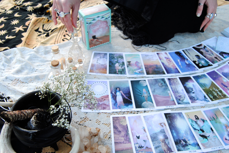 The Starchild Tarot tarot deck