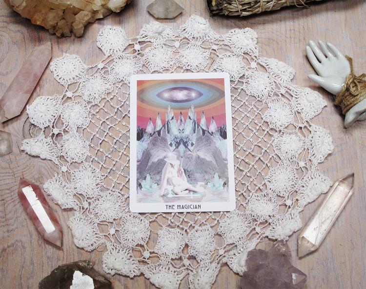 The Starchild Tarot - The magician