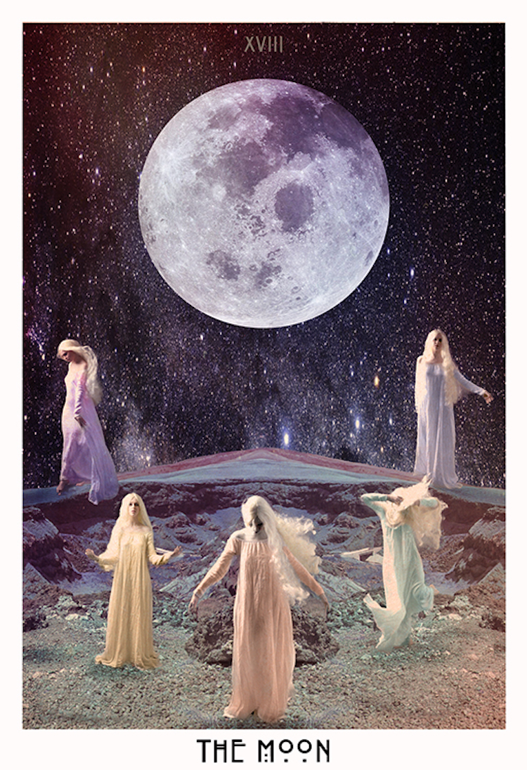 The Starchild Tarot - The Moon