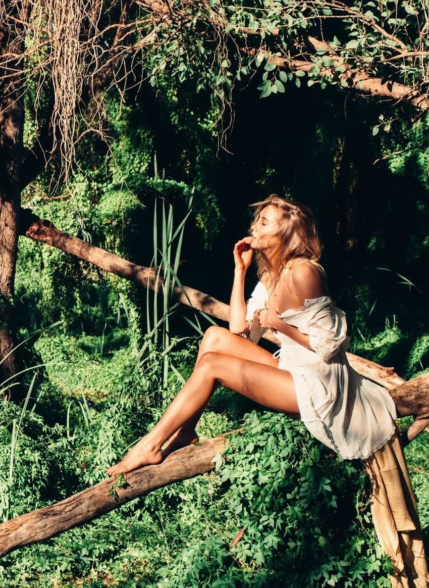 Brendan Foster shot model Gabrielle Sullivan