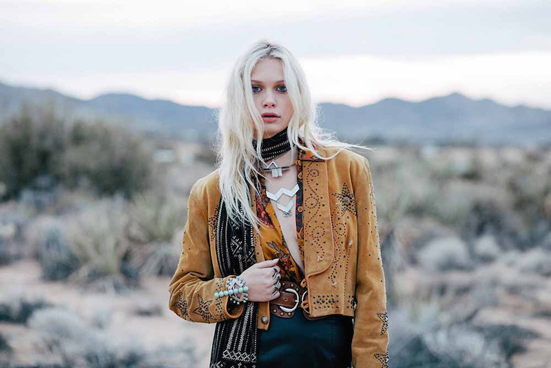 The 2 Bandits lookbook - Coryn Madley