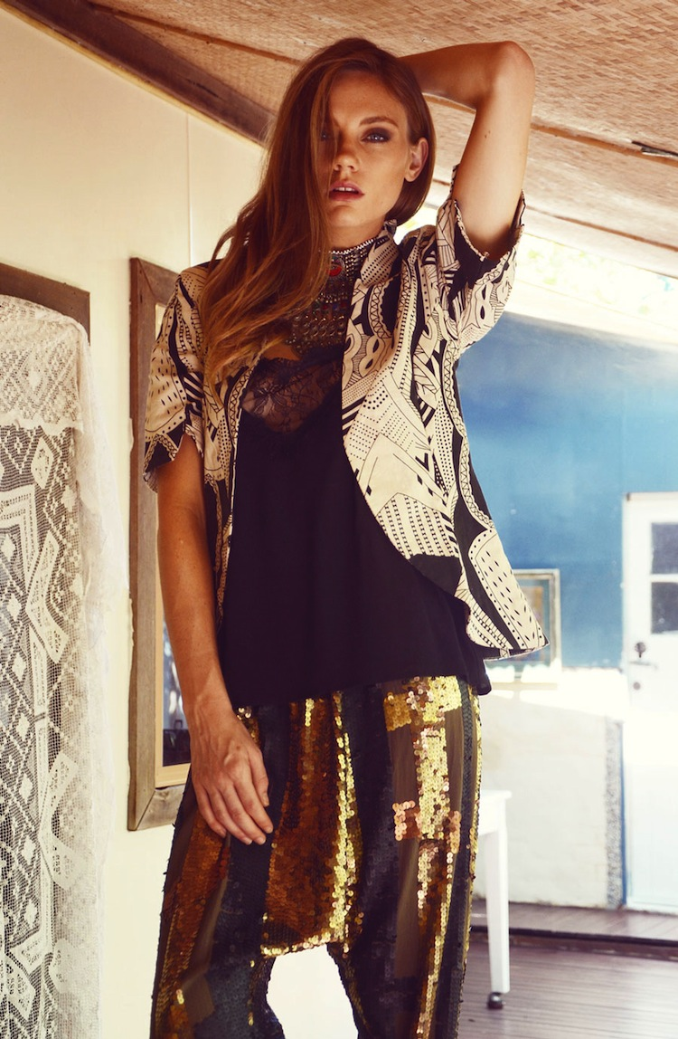 "Bohemian Luxe ""Kisses from the Kasbah"" lookbook"