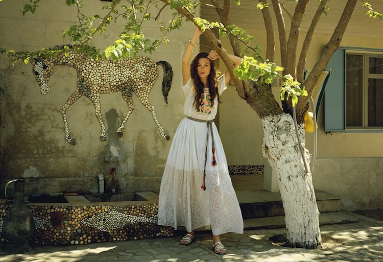model Irina Kulikova