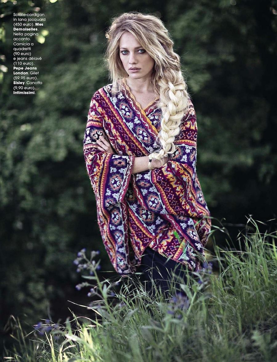 Glamour - model Zippora Seven