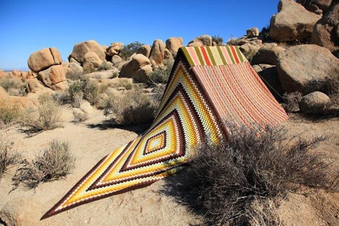 Desert Appliqué by artist Léa Donnan
