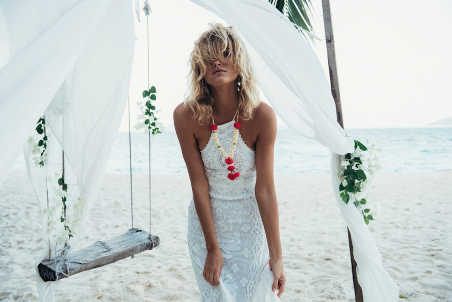 Spell Designs - Spell Bride Casablanca Halter Gown