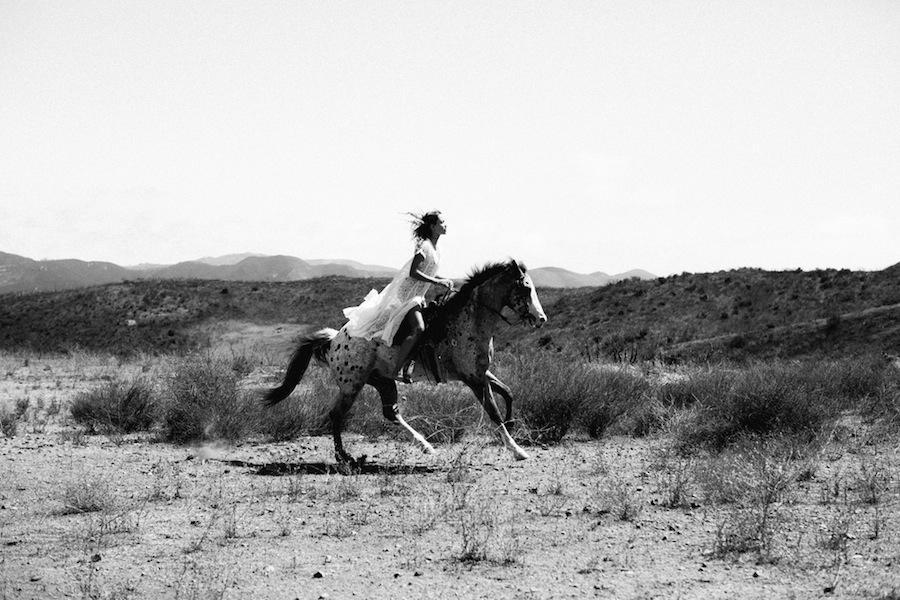 Jenavieve Belair - horse