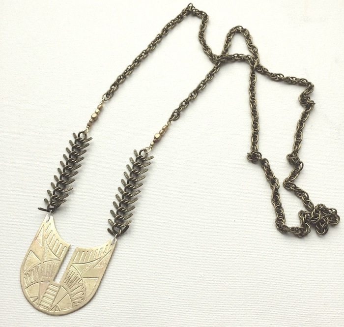 Serpentine and Fair - necklace