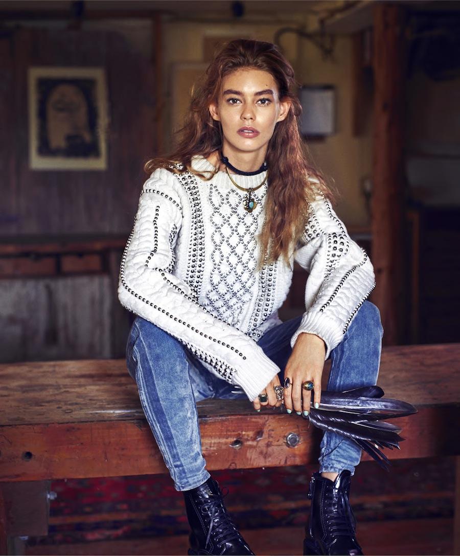 Harper's Bazaar - Ondria Hardin