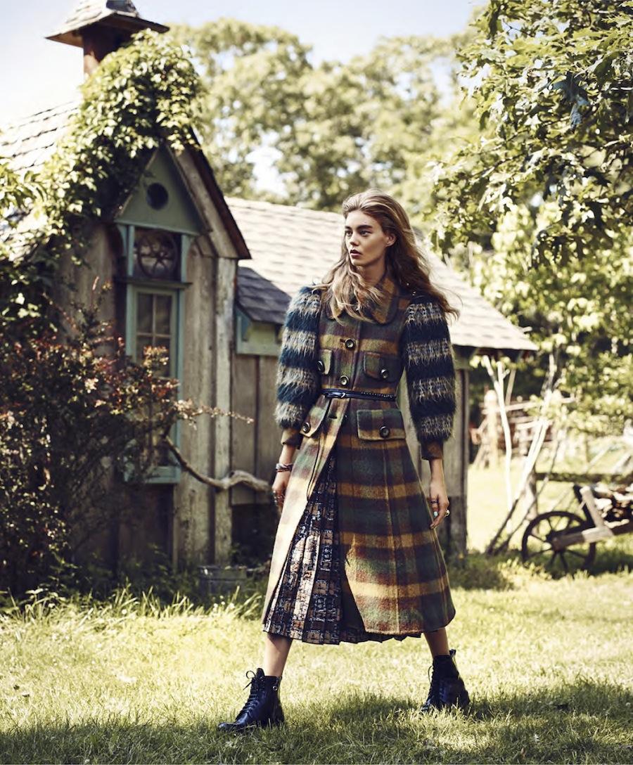 nextekHarper's Bazaar US September 2015 - model Ondria Hardin