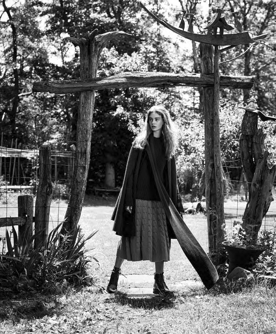 """nextekHarper's Bazaar US September 2015 """"Time for Texture"""" - Ondria Hardin"""