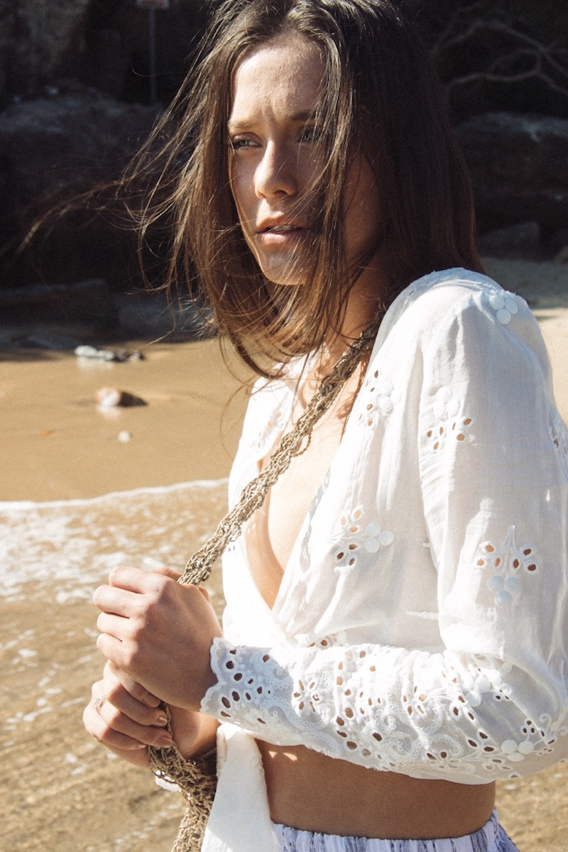 Laura Goodall shot model Kobi Maguire