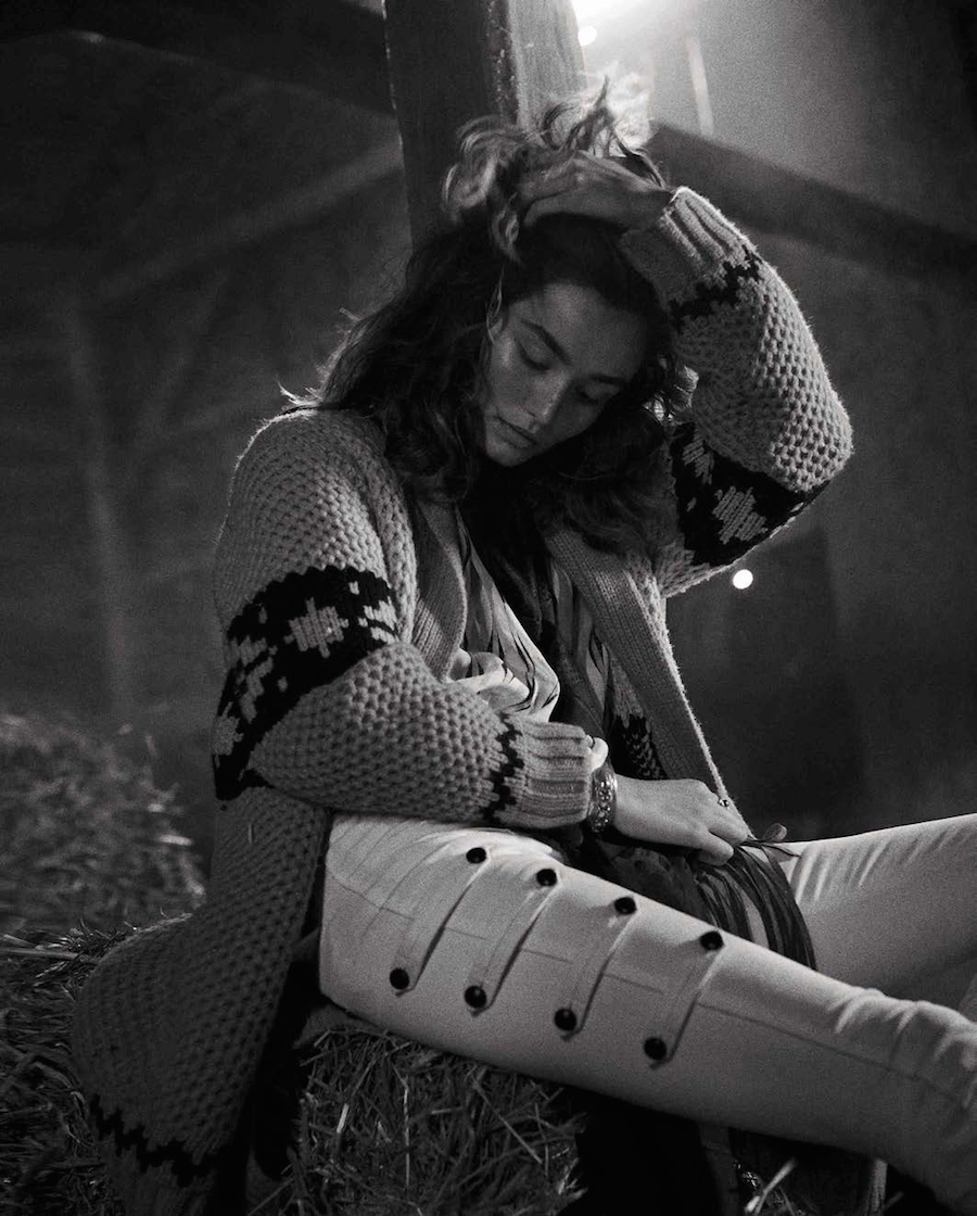 Vogue Spain October 2015 - photography Benny Horne
