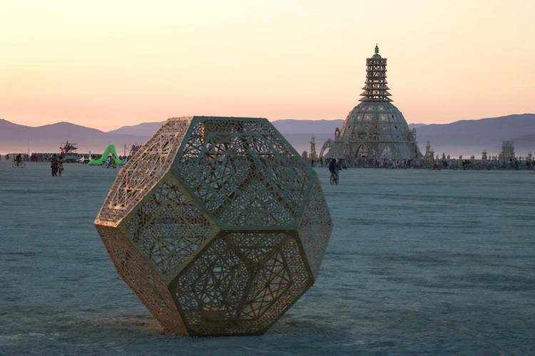Burning Man 2015 - sunset